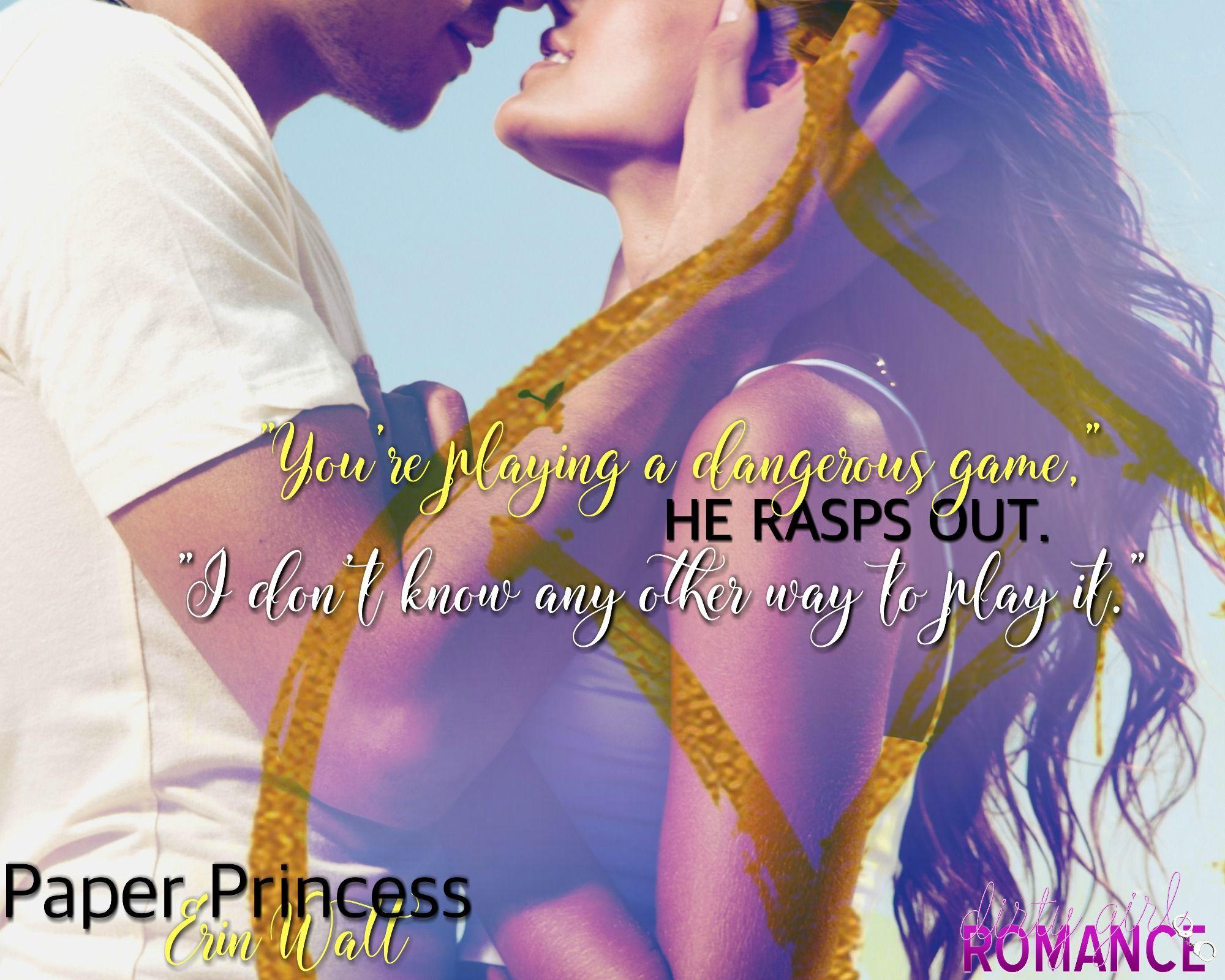 Paper Princess By Erin Watt #dirtygirlromance