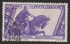 Stamp Italy SC 0297 1932 10th Anniversary Fascist Government March of Rome Used