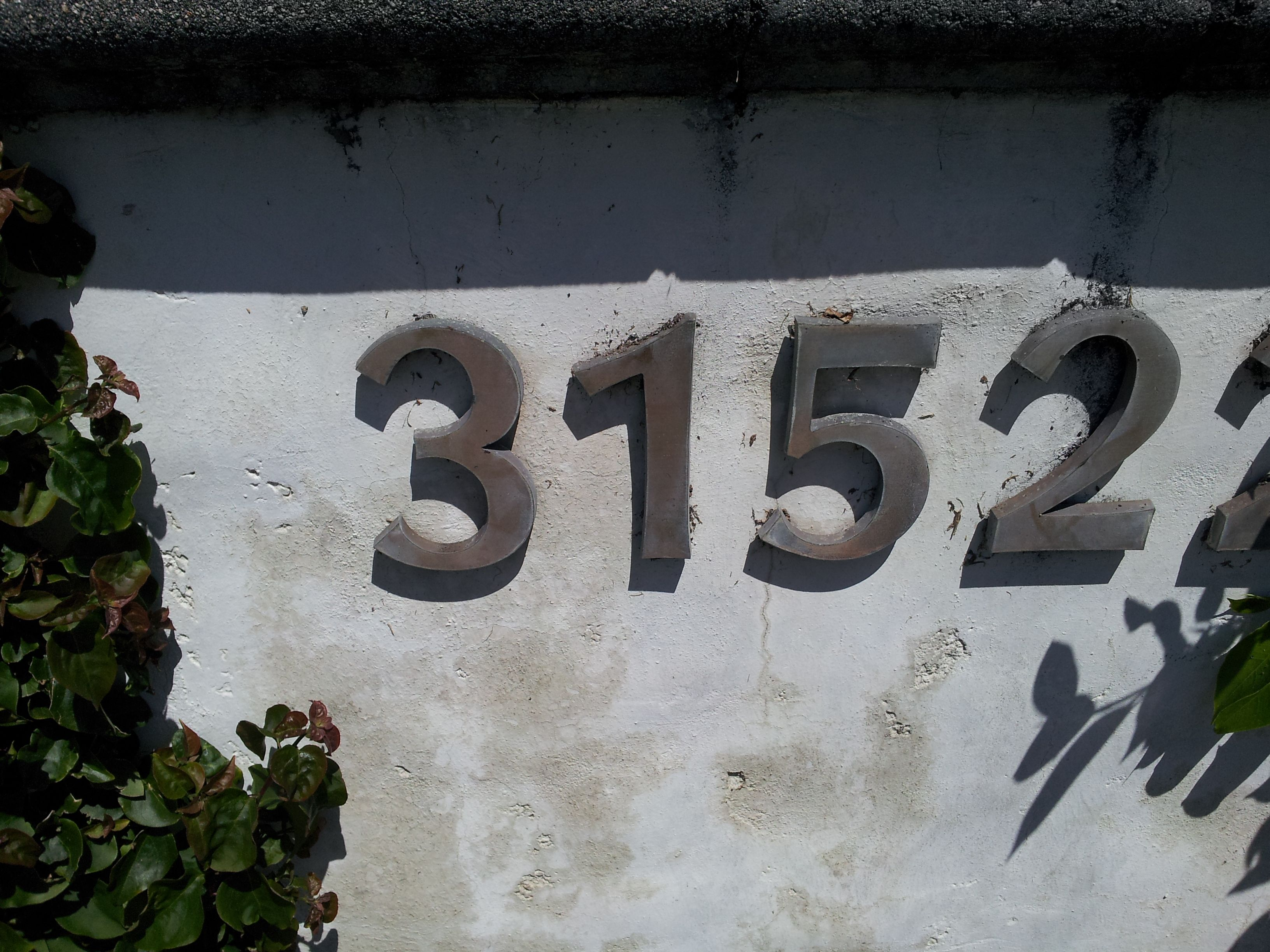 Wall Numbers Cool Numbers Number Wall Wall