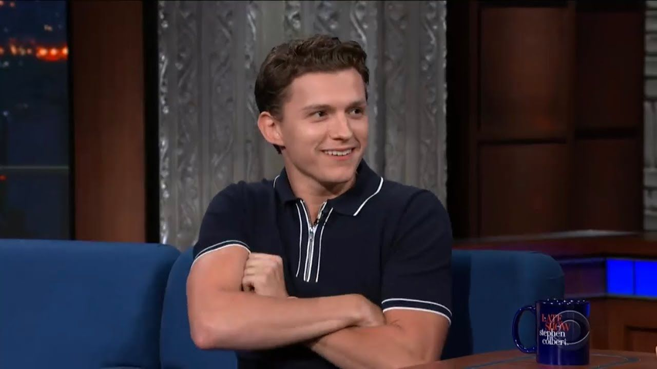 tom holland switching to an american accent for 20 minutes and 20 ...