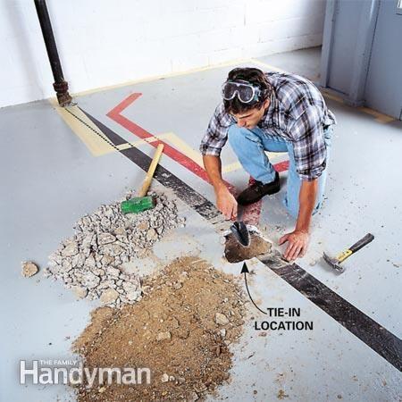 How To Plumb A Basement Bathroom Basement Bathroom Basement Bathroom Design Waterproofing Basement