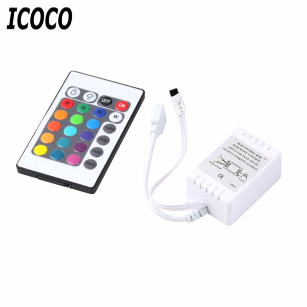 ICOCO 1 Set RGB 16 Colors 4 Different Light Control Functions Remote ...