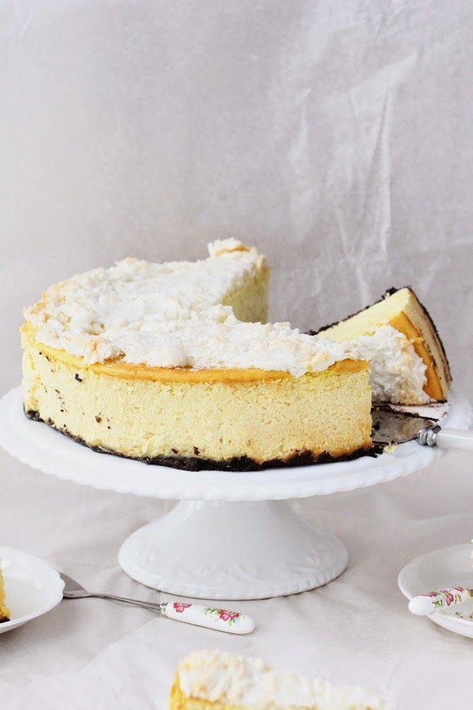 Coconut and Mango Cheesecake | Bayaderka