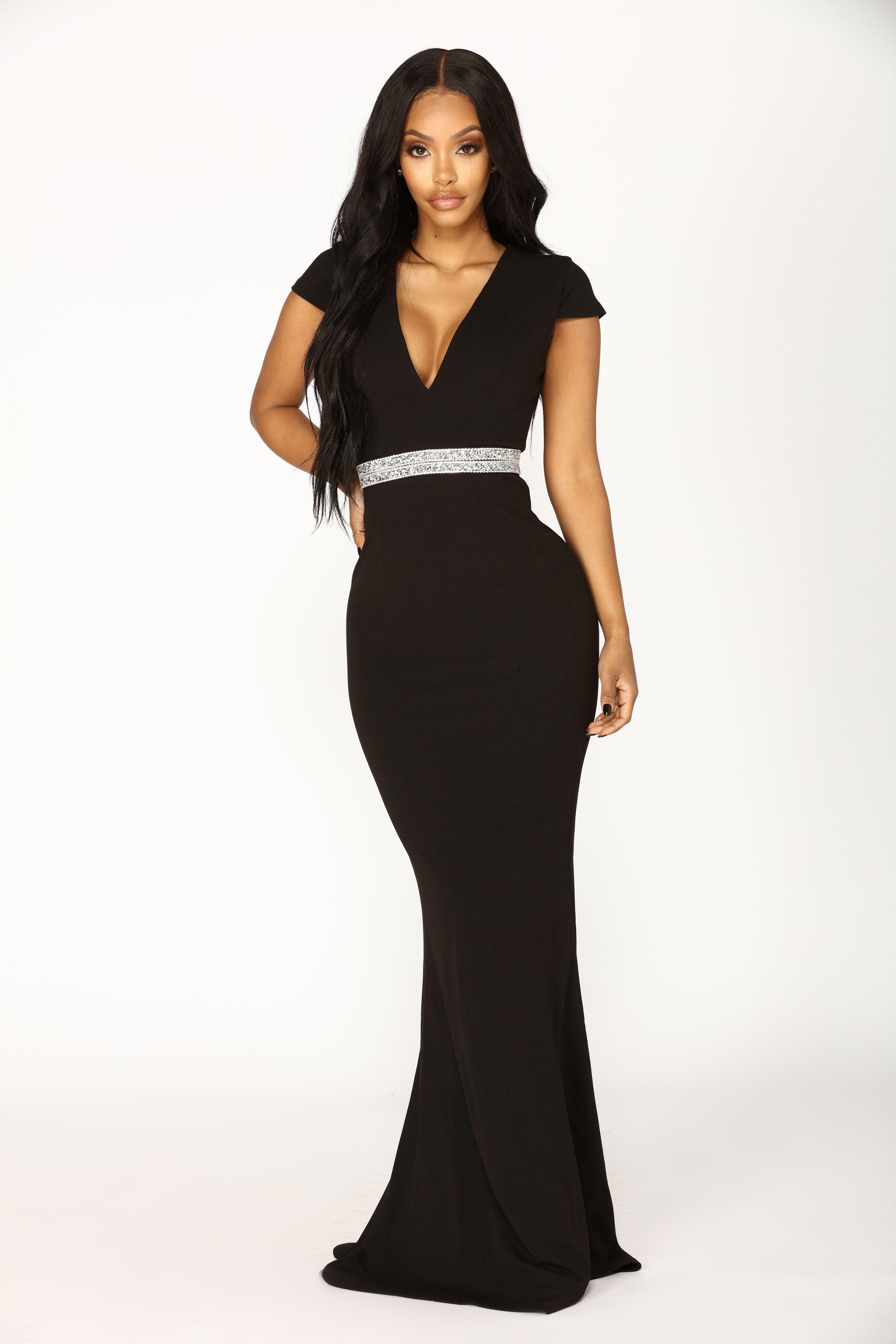 Maddison Maxi Dress Black Black gown dress, Elegant