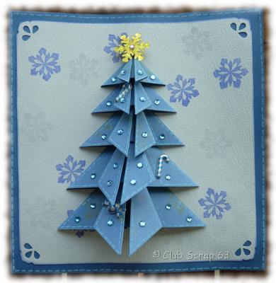 Sapin en origami paper crafts pinterest origami christmas cards and cards - Sapin en origami ...