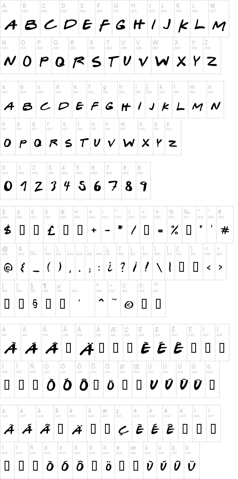 Download Gabriel Weiss' Friends Font | dafont.com | Friends font ...