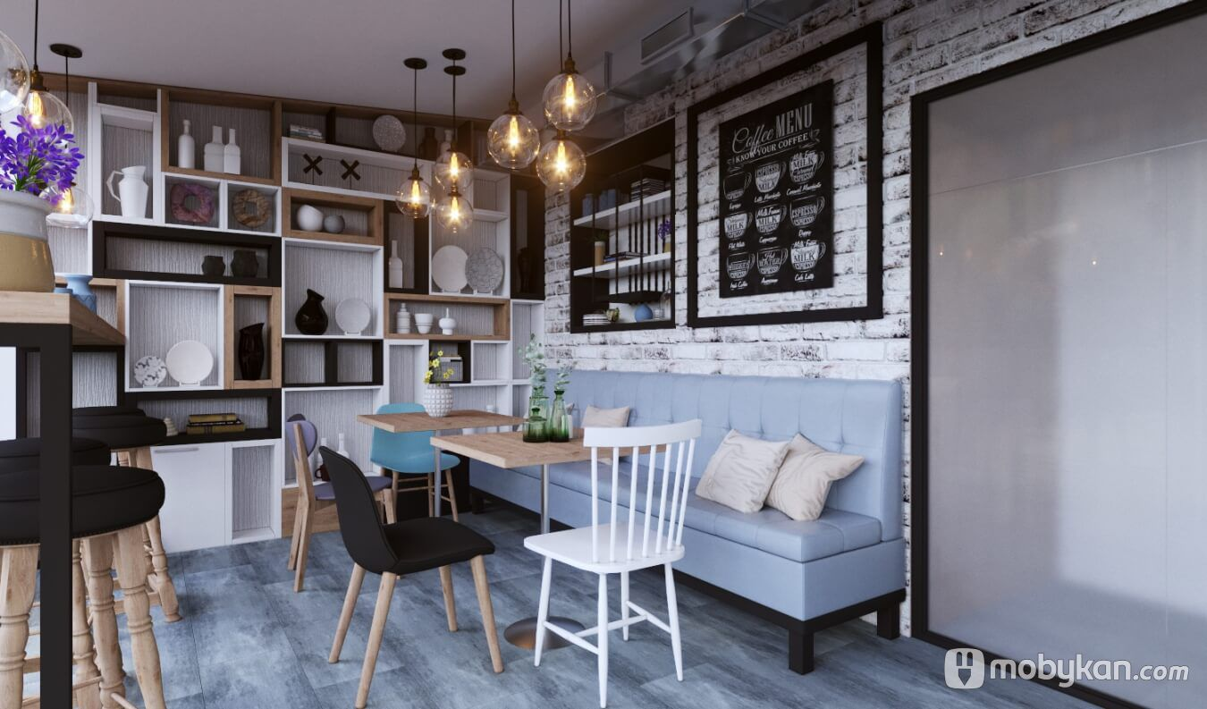 تصميمات ديكورات كافيهات مبتكرة تخطف الانظار Cafe Interior Cafe Interior Design Interior Design