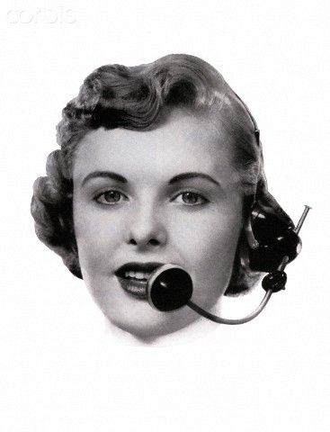 Pin On Telephone Operator Poster
