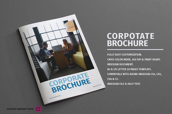 Minimal Corporate Brochure Corporate Brochure Brochures And Minimal - Corporate brochure template