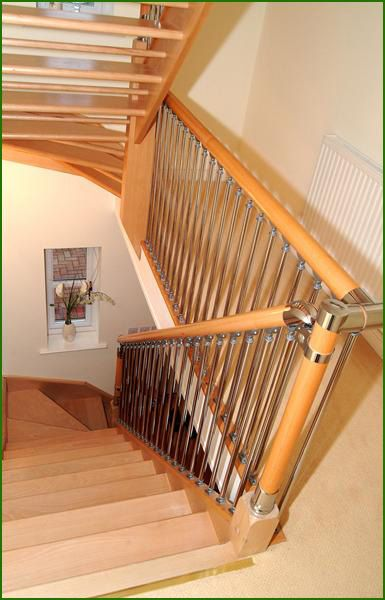 Best Chrome And Nickel Fusion Staircase Modern Stairs 400 x 300