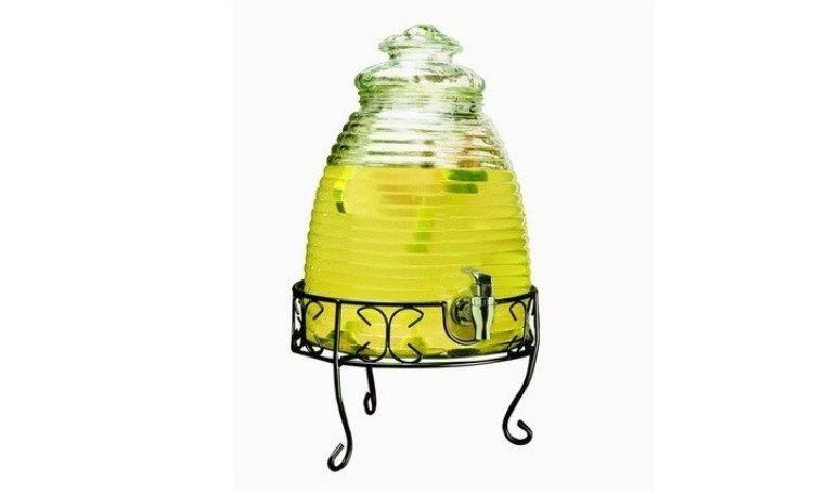 Beehive drinks dispenser from sweet pea parties drink