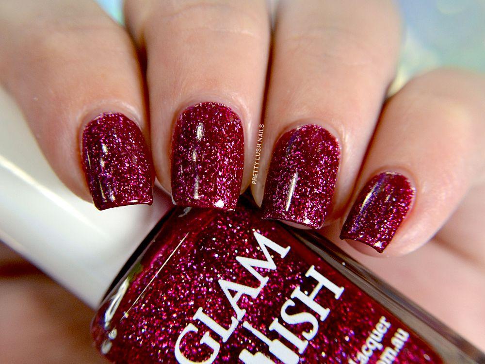 Glam Polish Ms. Eva Ernst | Pretty Lush Nails | Glam Polish | Pinterest