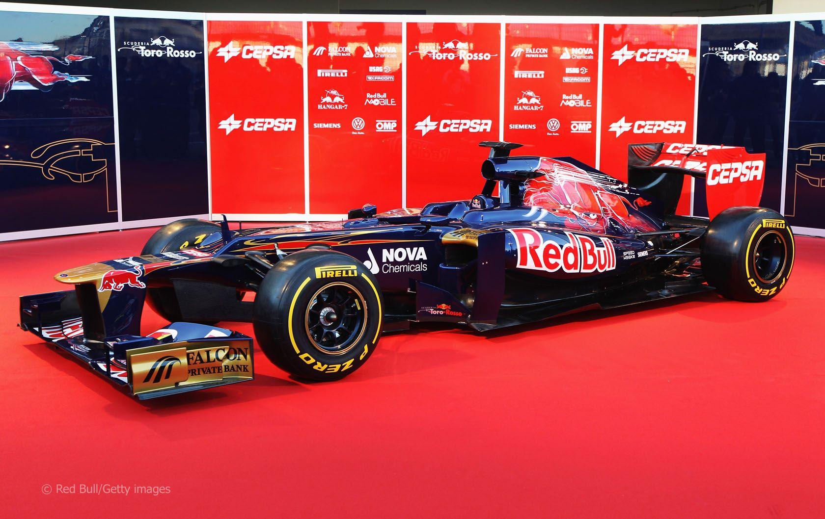 Toro Rosso STR7, 2012 Vw fusca, Nova, Fusca