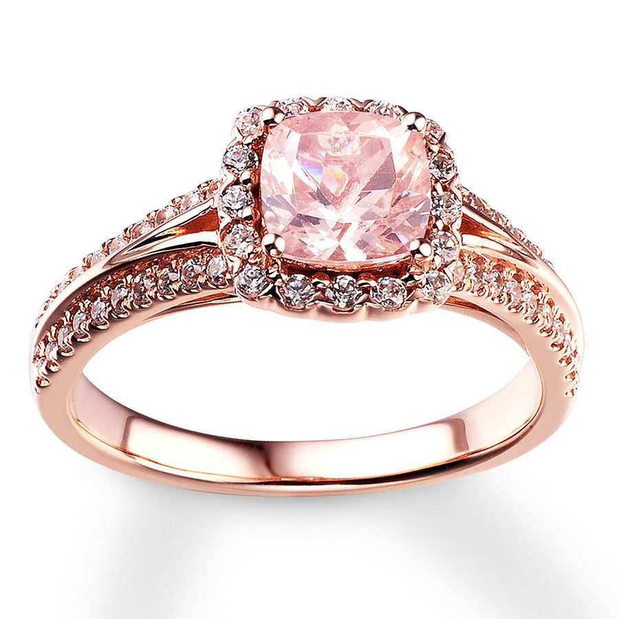 Kay Engagement Ring 3/8 ct tw Diamonds 14K