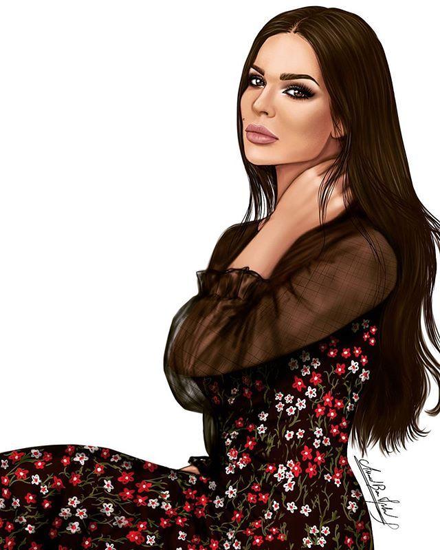 Instagram Photo By Assaad Bou Mjahed Assaad World Jul 7 2016 At 2 12pm Utc Lebanese Girls Illustration Girl Nadine
