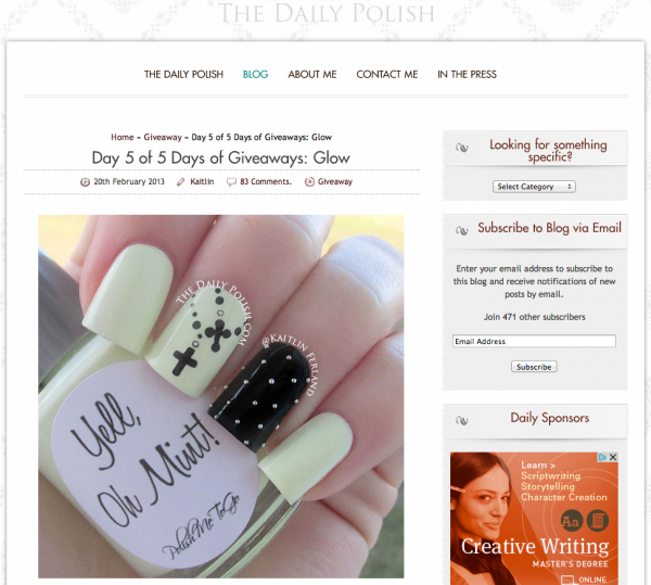 15 Best Nail Art Blogs On The Internet Decorado De Uas