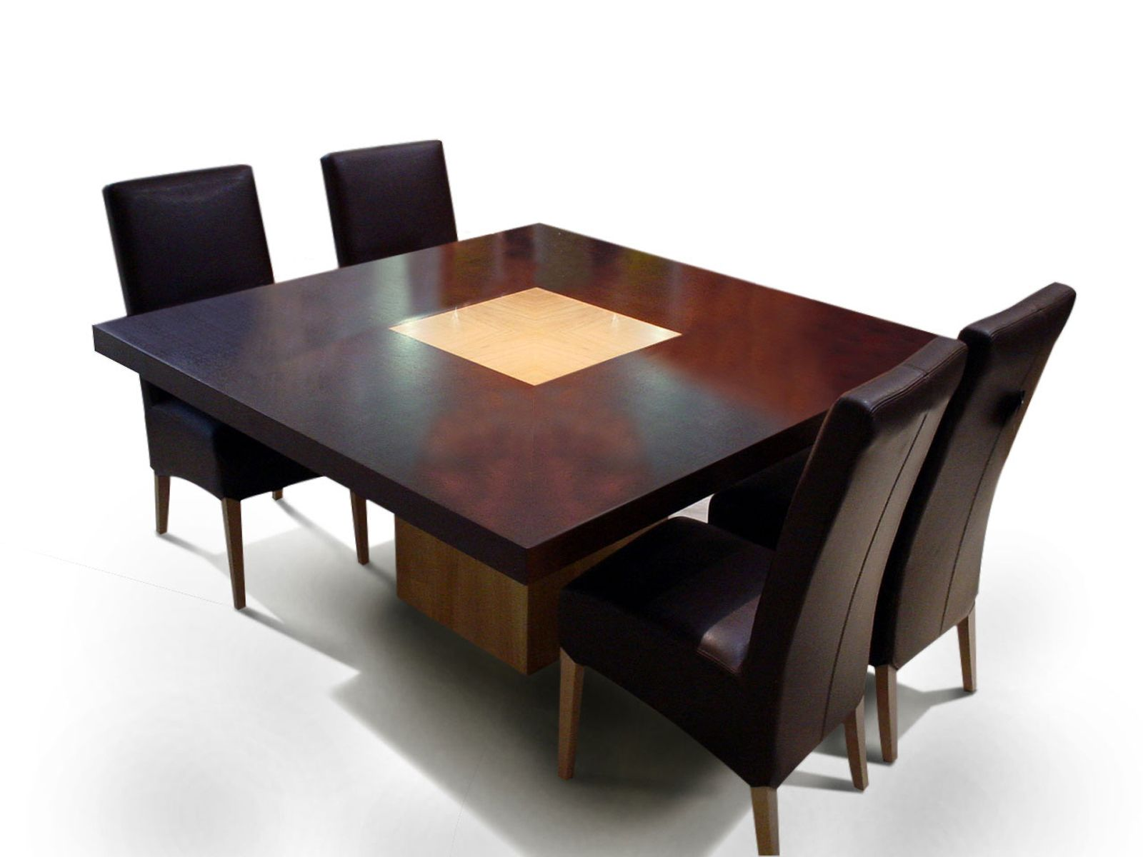 Hermoso mesas cuadradas comedor fotos wenceslao muebles for Mesa cuadrada