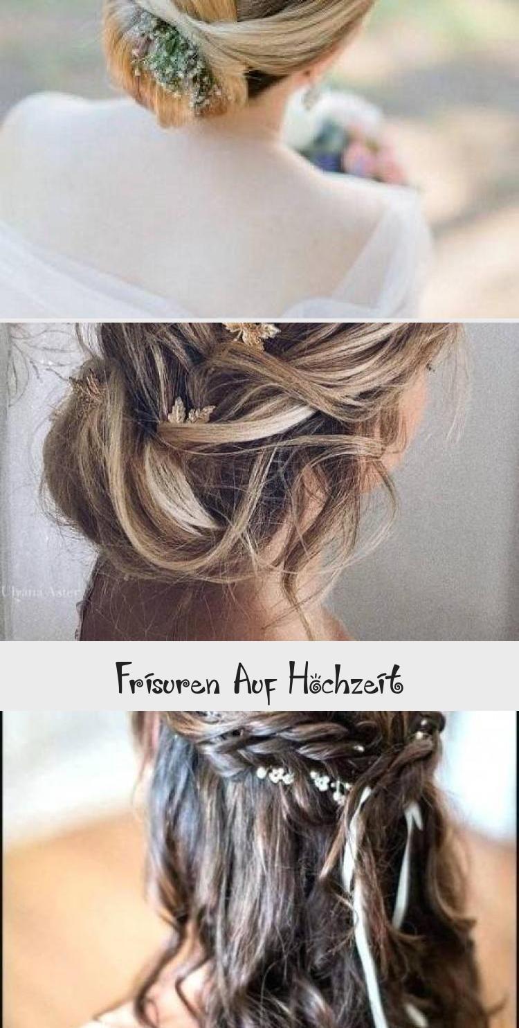 Frisuren hochzeit lange haare offen selber machen