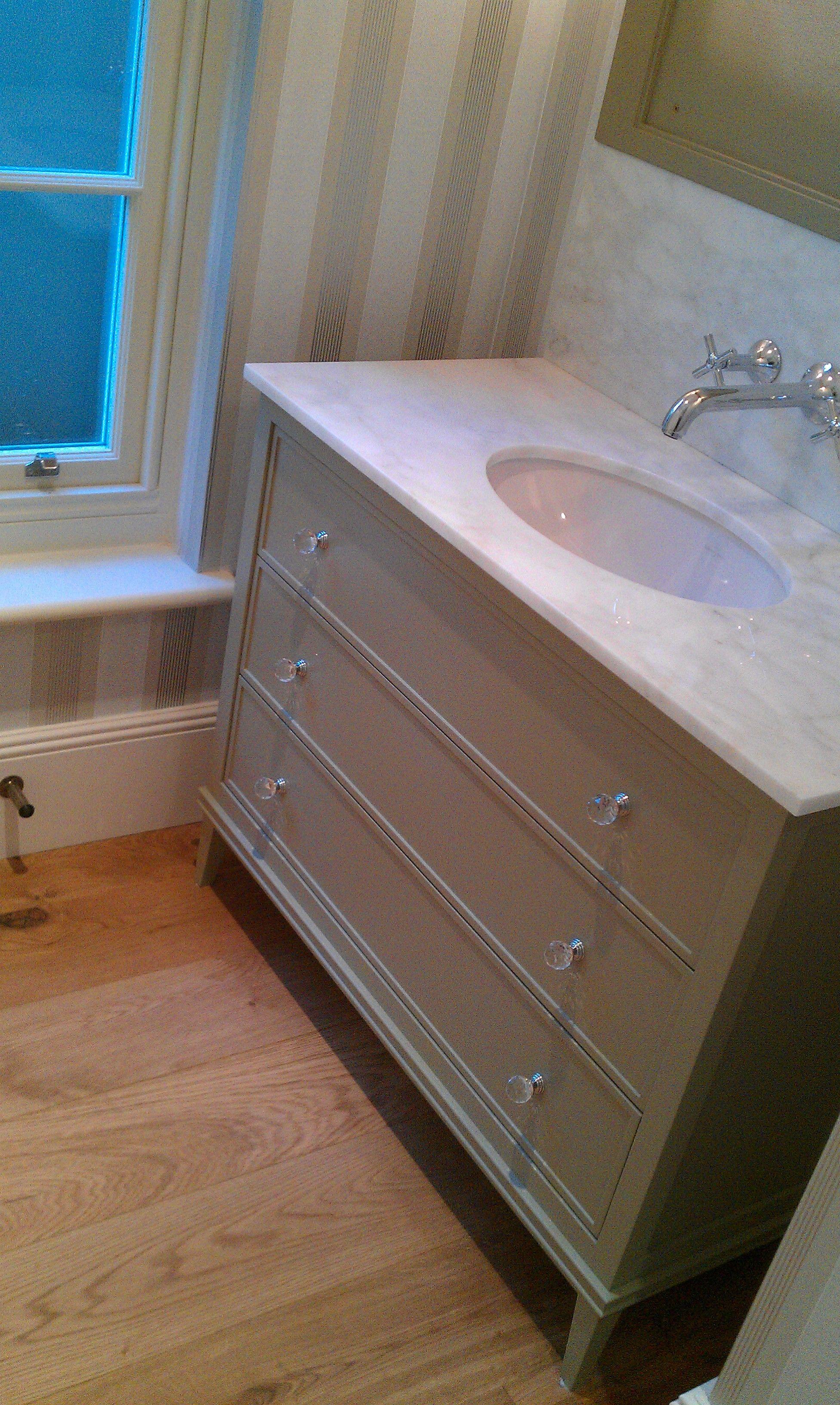 painted vanity unit bathroom bespoke furniture painted vanity rh pinterest com