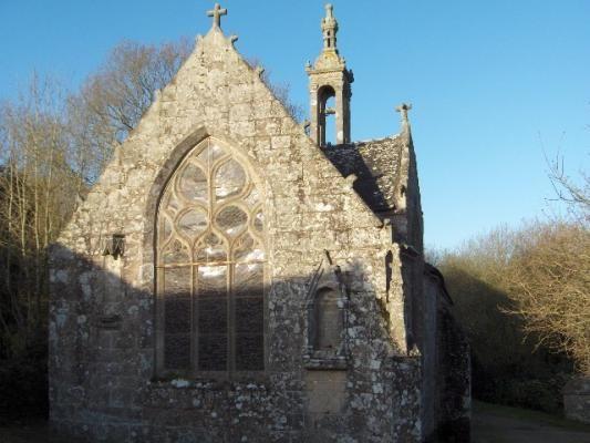 Chapelle Notre Dame de Bonne Nouvelle.Locronan. Finistère