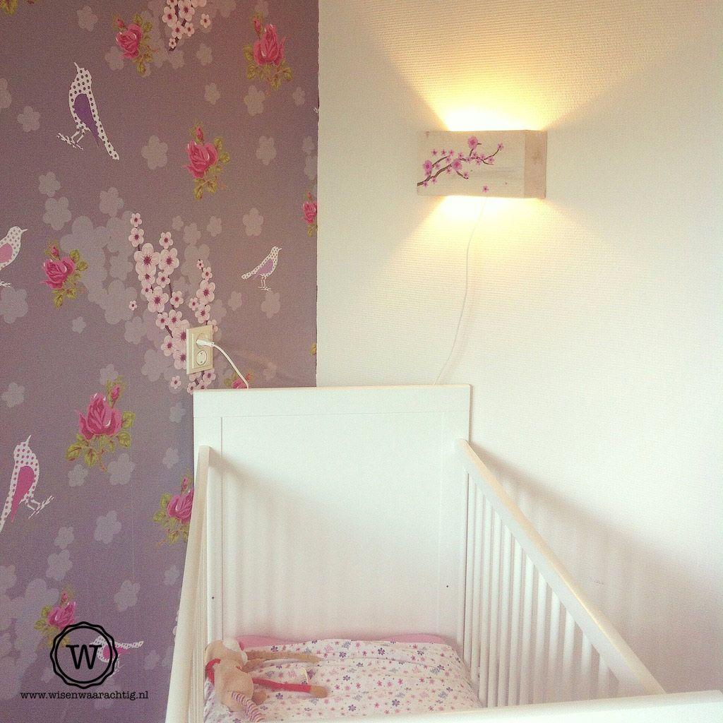 Bloesemlamp op de kinderkamer wauw de lamp maakt de kamer voor ise helemaal af ben er - Wallpapers voor kamer ...