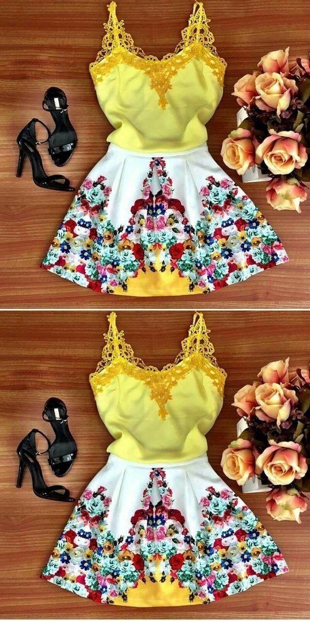 Short homecoming dresses charming floral short dresses desks in