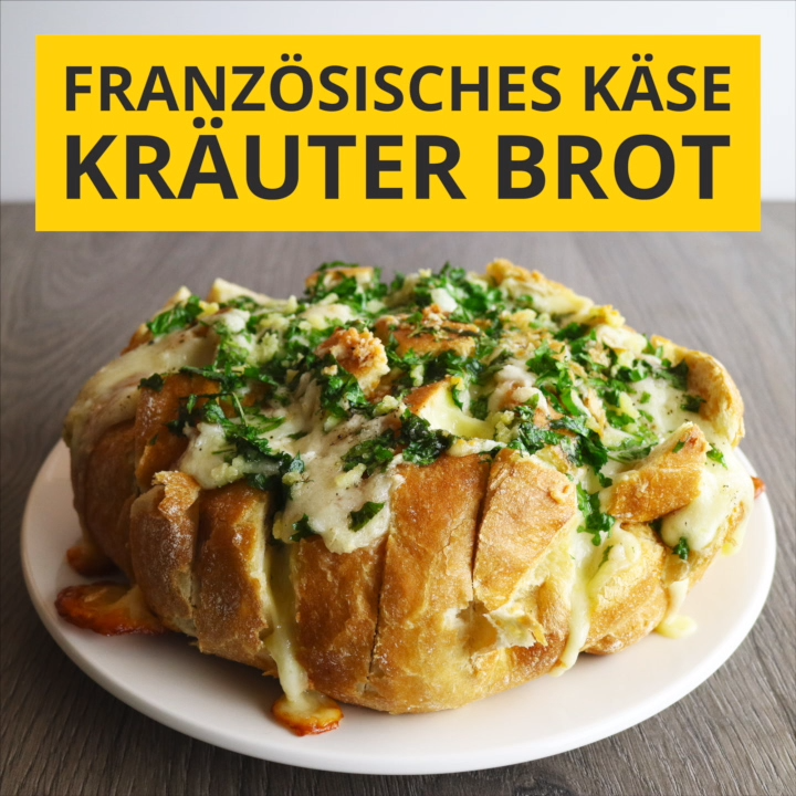 French cheese and herb bread
