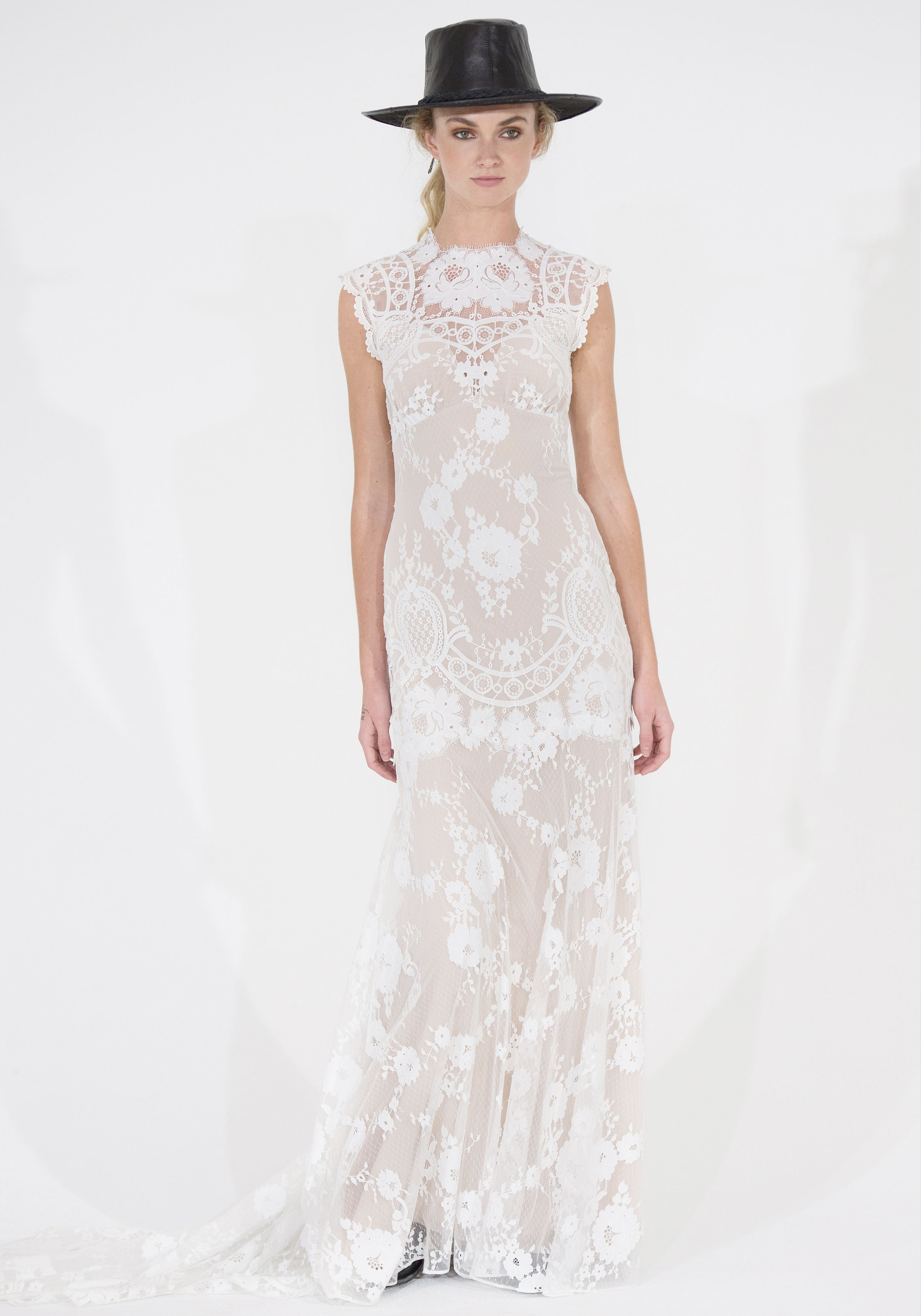The Cheyenne Gown From Wedding Dress Designer Clairepettibone Looks Flattering On Any Bride Especially