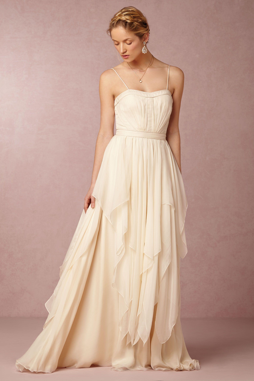 Cascada Wedding Gown by Catherine Deane for @BHLDN