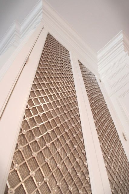 I Love The Look Of This Mesh For A Cabinet Door Front Does Anyone