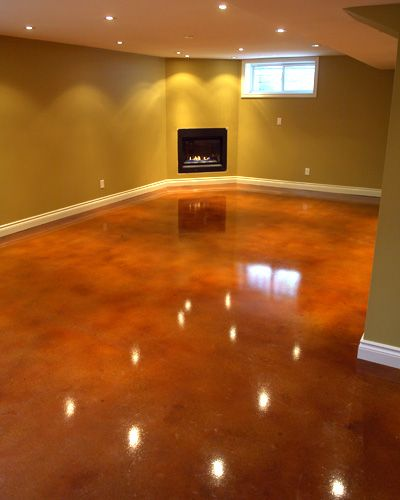 Acid Stained Concrete Floors....awesome!