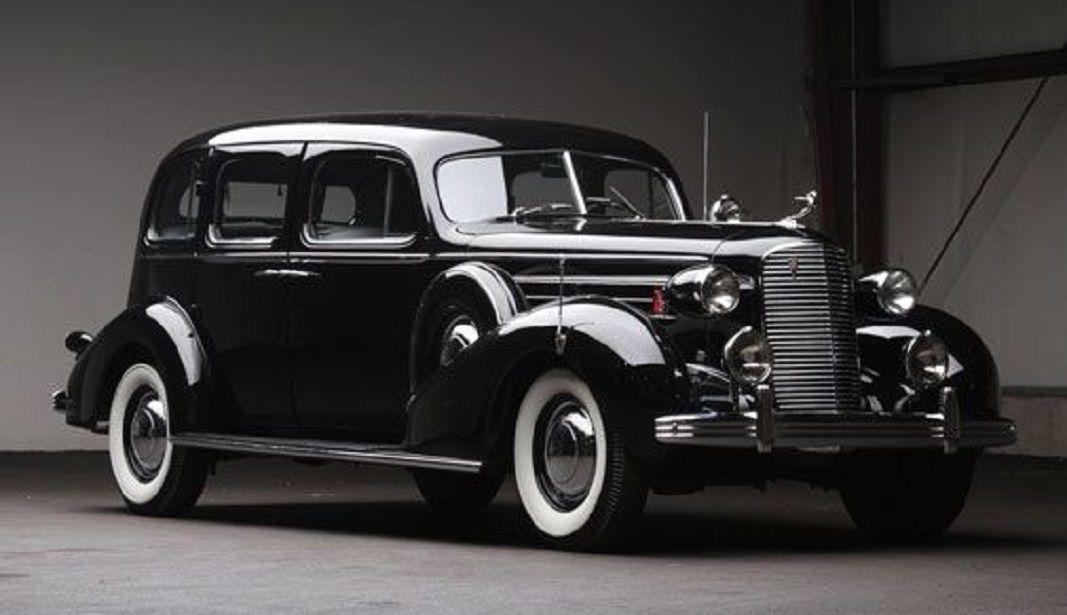 1936 Cadillac Black Fleetwood V-8 Touring Sedan | Classic GM Cars ...