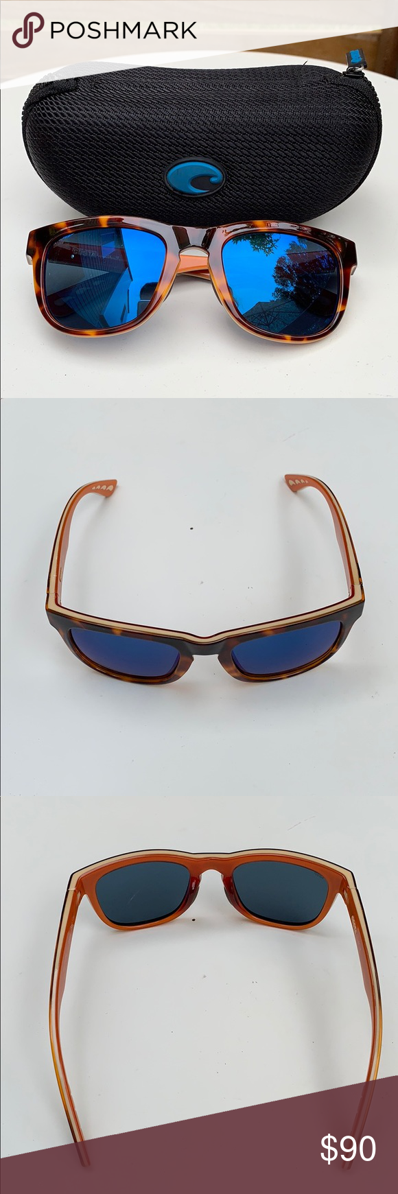 dc8eab3aa71 Great Condition Costa Copra Sunglasses Gently used Costa Polarized  sunglasses—superficial imperfections on lenses that