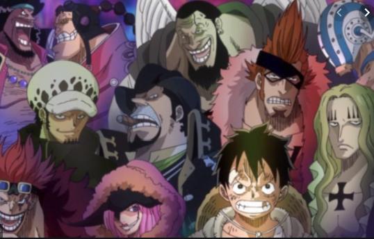 One Piece Creator Reveals All of the Supernova Pirate