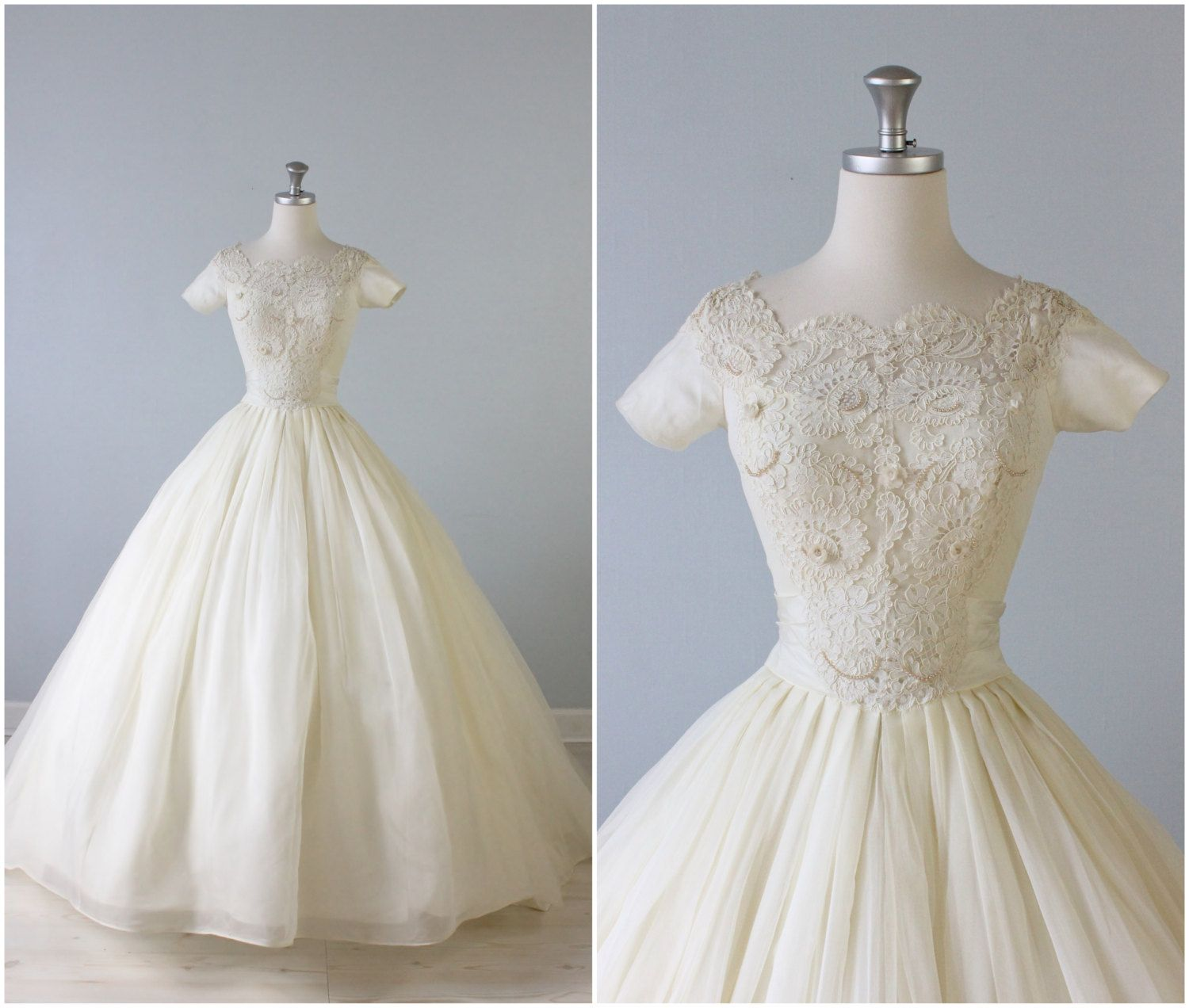 17 Best images about 1950s Wedding Gowns on Pinterest  Wedding ...