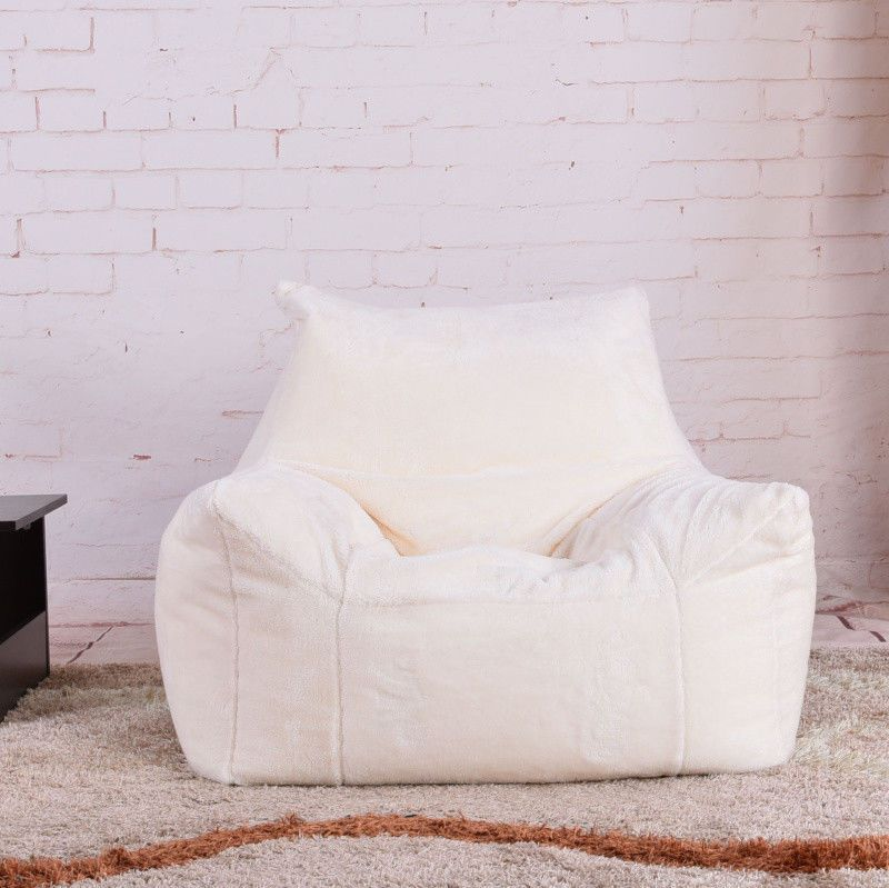 Details About Fluffy Bean Bag Chairs For Adults Kids Sofa Couch