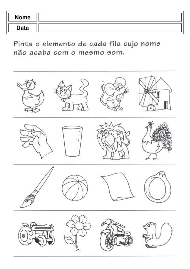 Populares Atividades pre escolar - pré mourão | Atividades | Pinterest  UF76