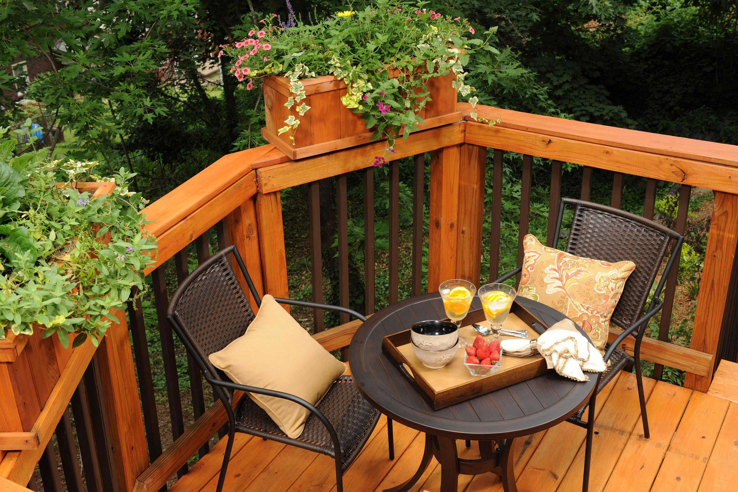 Best Two Toned Deck Railing All Decked Out Pinterest 640 x 480