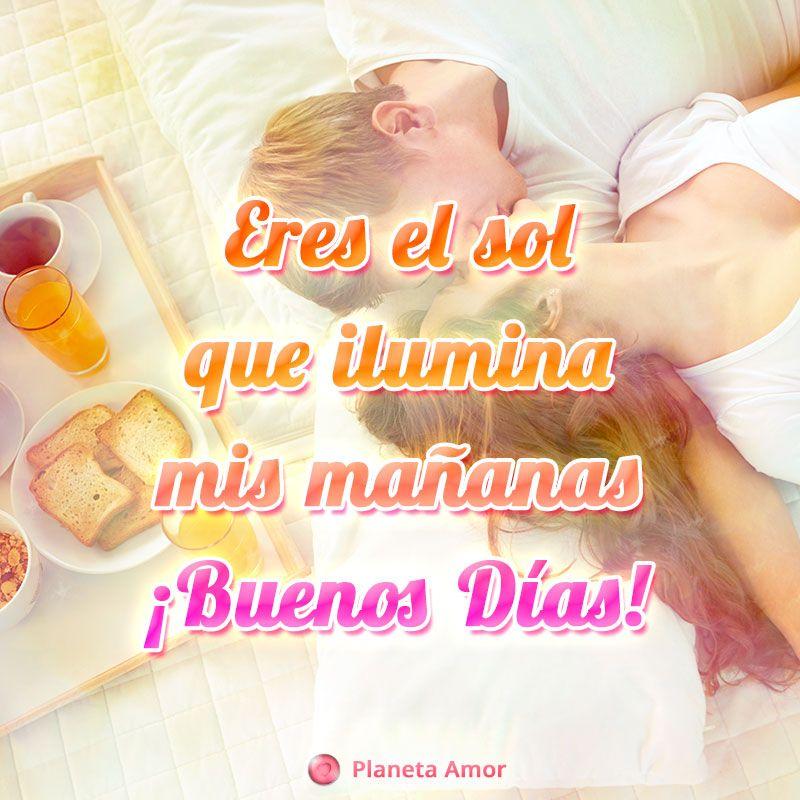 Tierna Frase De Buenos Dias Mi Amor Con Imagen De Pareja Imagenes