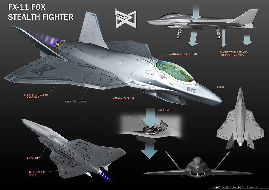 Student created military aircraft designs | Future War ...