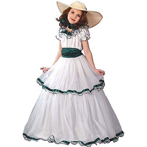 Big Girls\u0027 Southern Belle Costume Medium (8-10) Fun World Costumes