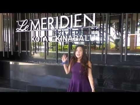 Staycation at Le Meridien Kota Kinabalu - Room Tour! - YouTube