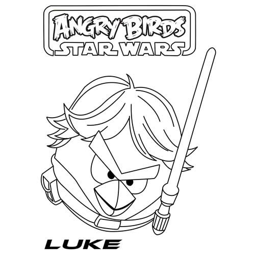 Star wars angry birds print off Just for Everett Pinterest - copy coloring pages angry birds stella