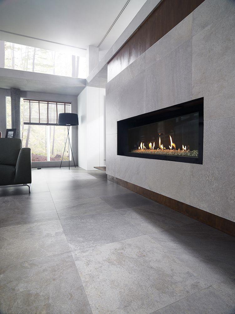 Deep Light Grey Nature Indoor Tile Grey Flooring Tile Floor