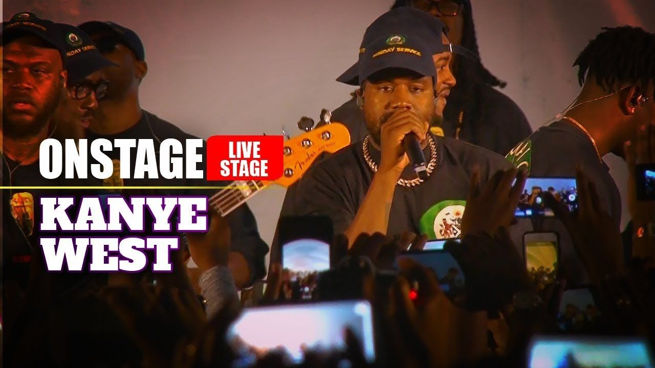 Kanye West Jesus Walks Live In Jamaica Sunday Service Kanye West Kanye Living In Jamaica