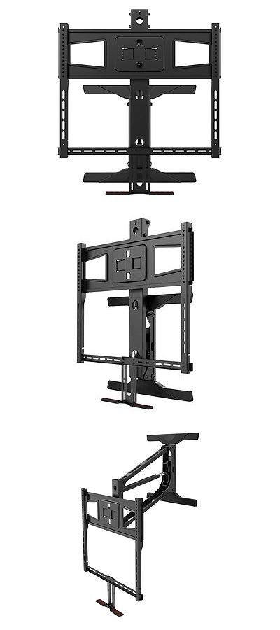 Tv Mounts And Brackets Monoprice Above Fireplace Pull Down Full Motion Tv Wall Mount