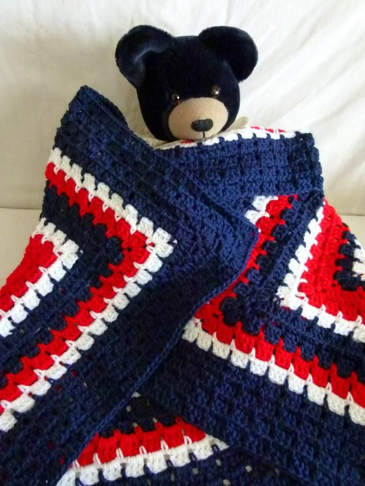 Red White And Blue Crochet Patterns Images Knitting Patterns Free