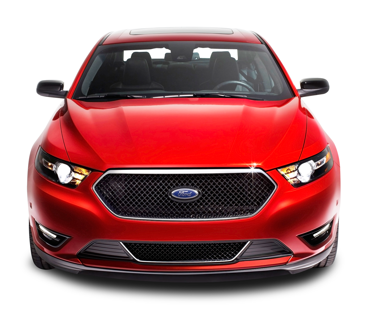 Red Ford Taurus Front Car Png Image Autos Png De Frente