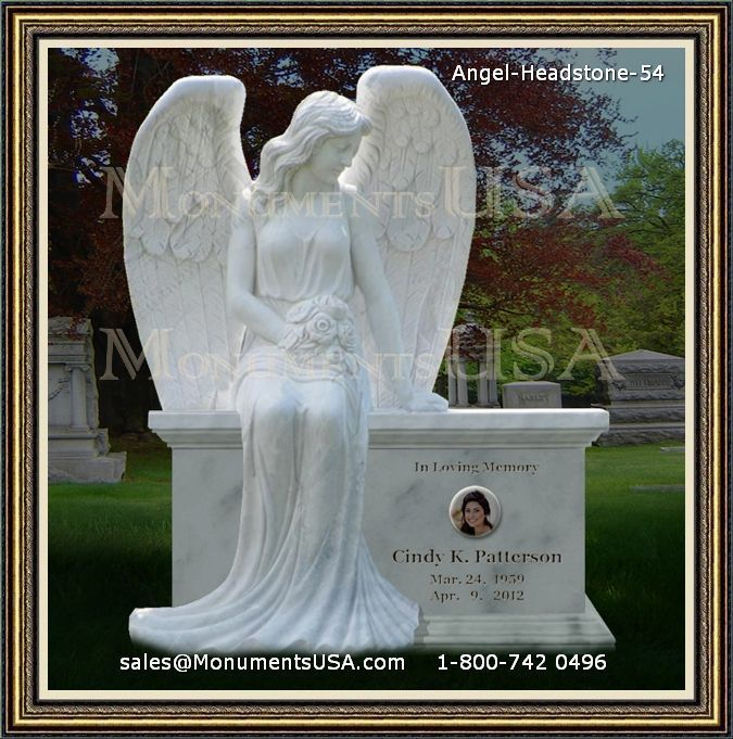 Small Angel Statues For Graves