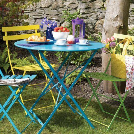 sillas mesa color